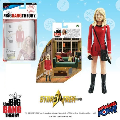 Big Bang Theory Penny Star Trek 3 3/4-Inch Figure